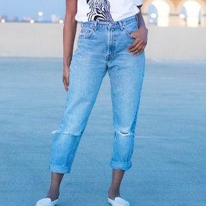 Vintage | Gap Classic Fit Jeans High Waist w/ Rips